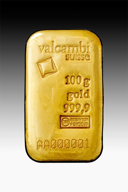 100 G Gold Bar 999 9