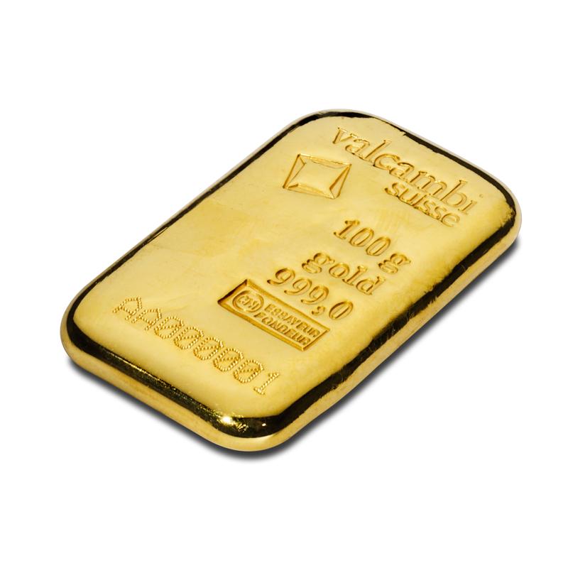 100 G Gold Bar 999 0