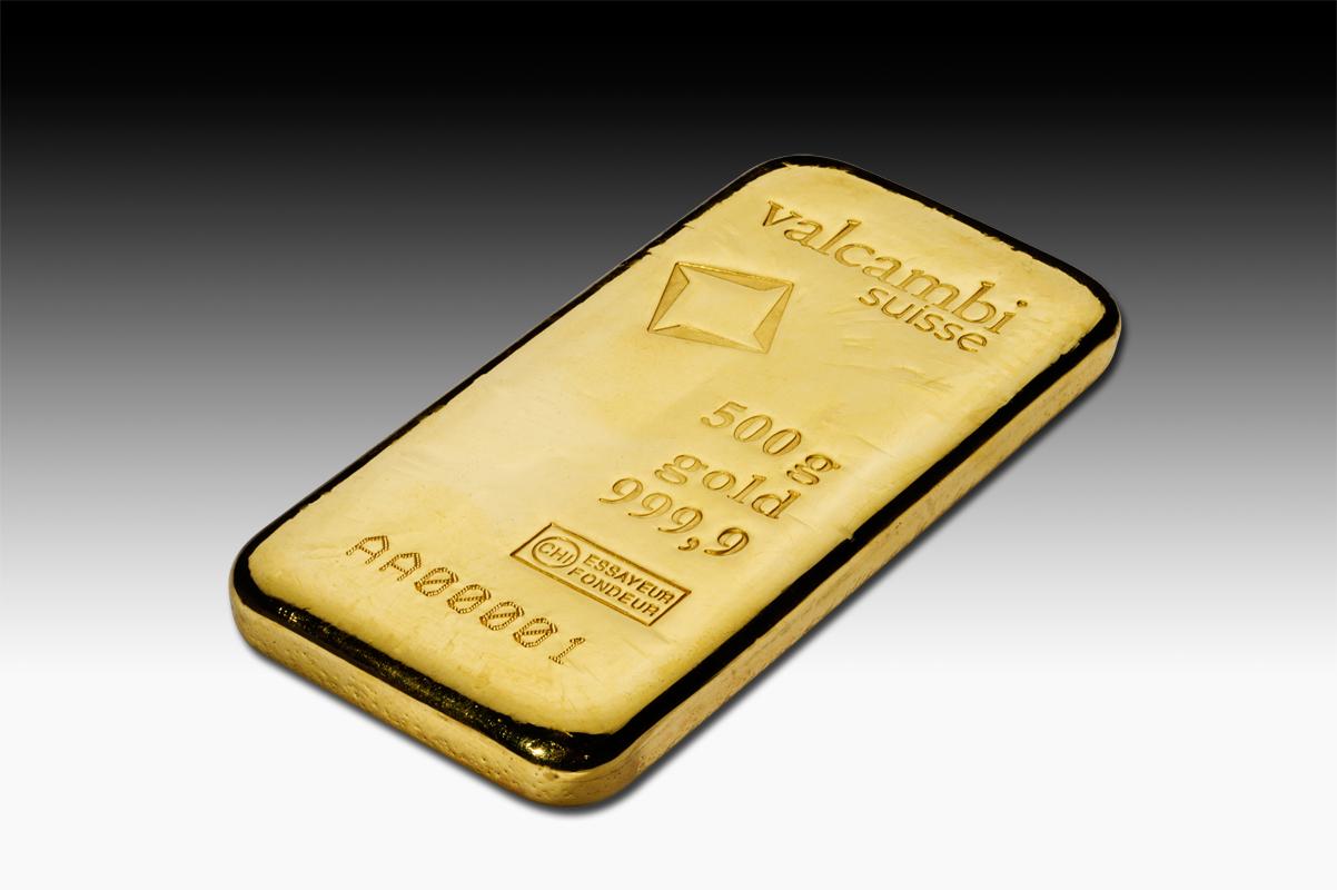 500 G Gold Bar