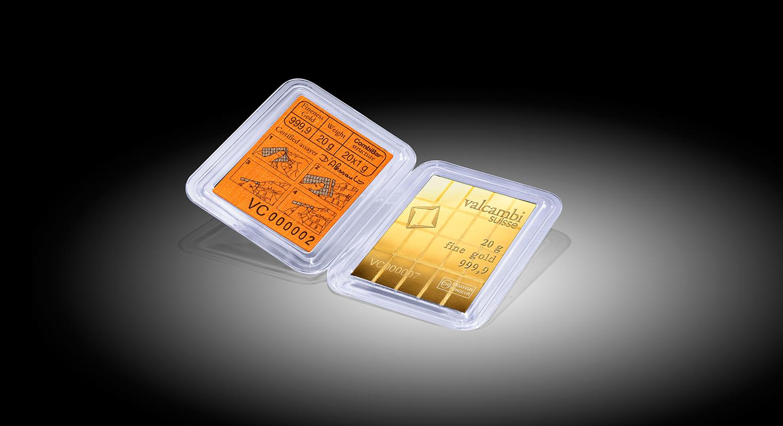 20 X 1 G Gold Combibar