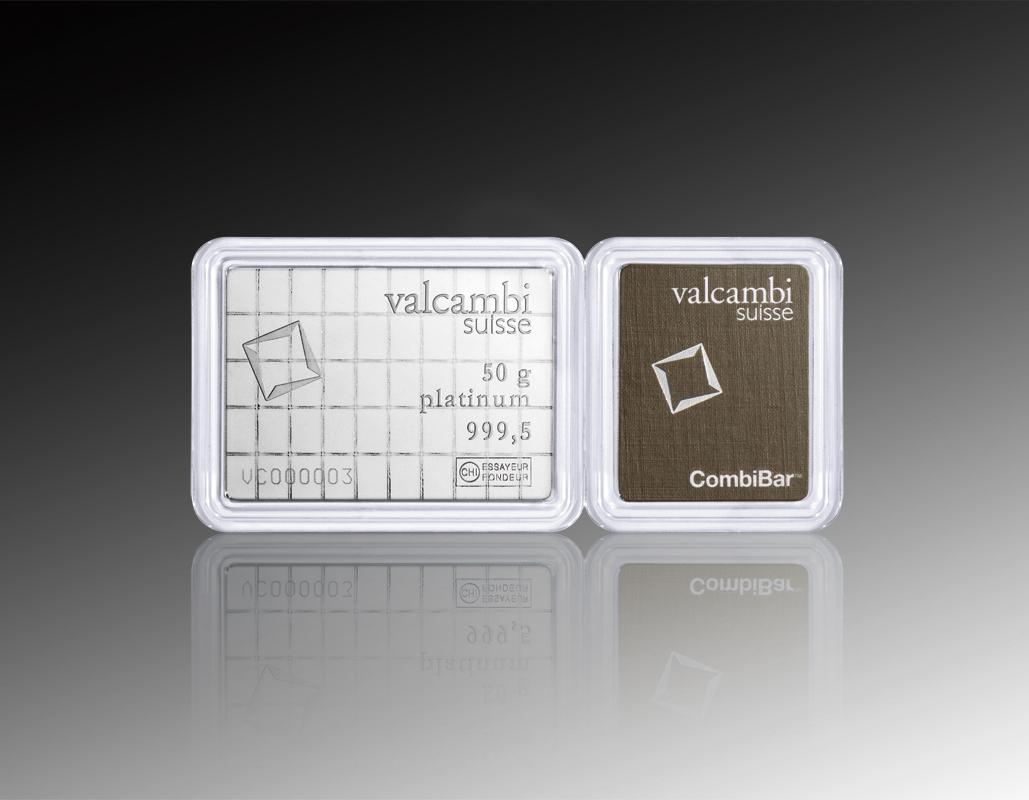 50 X 1 G Platinum Combibar