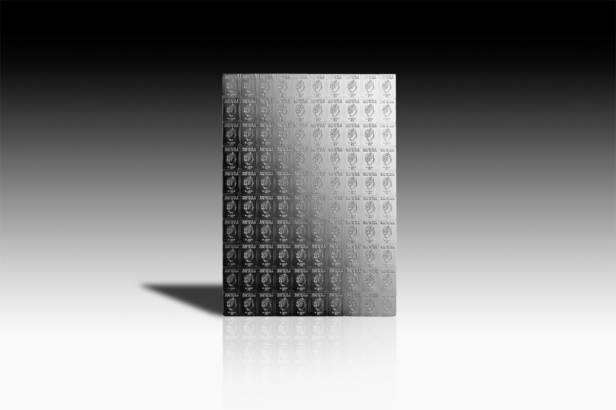 100 X 1 G Silver Combicoin
