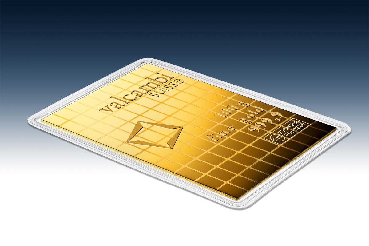 100 x 1 g Gold CombiBar™