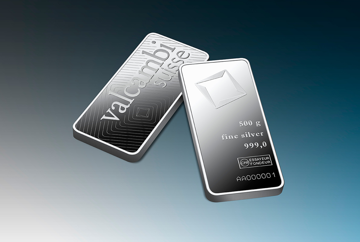 500 G Minted Silver Bar