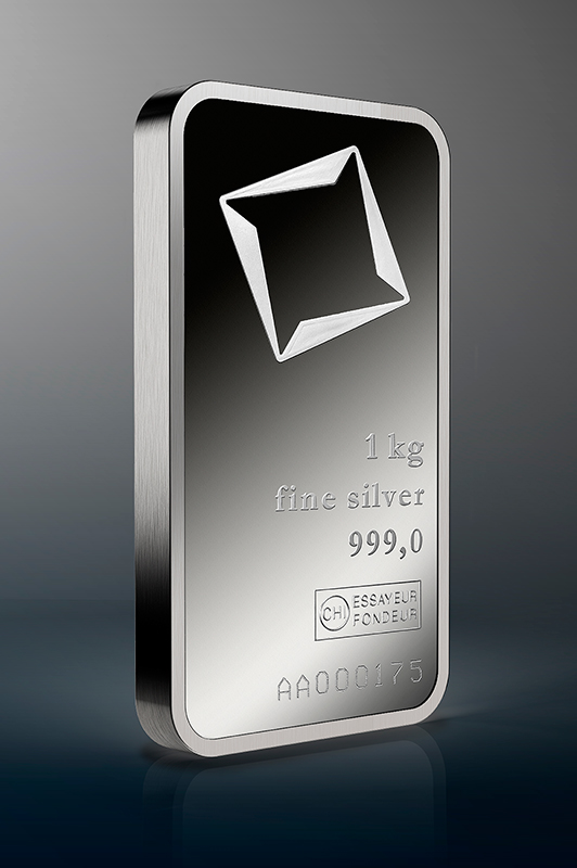 1000 G Minted Silver Bar