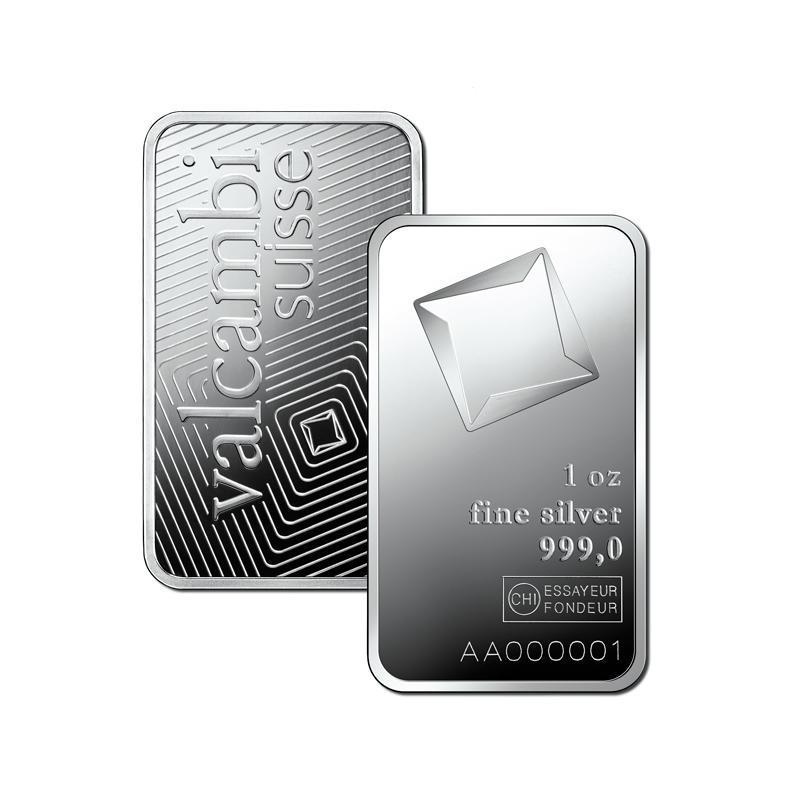 1 Oz Minted Silver Bar